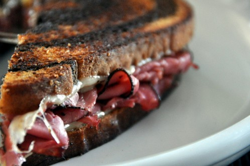 Snarf's Pastrami And Swiss Sandwich Recipe — Dishmaps